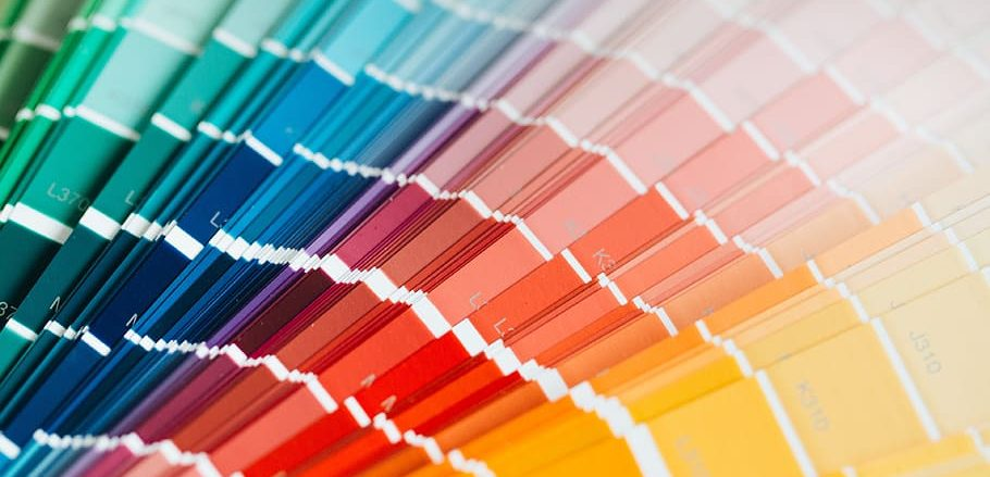painting paint colorful colors 910x439 - Popular Colors To Use In Website Design (And What They Mean)