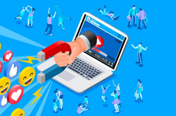 Magnet Social media 560x370 - Social Marketing In Social Media